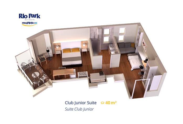 Club Junior Suite RioPark Medplaya